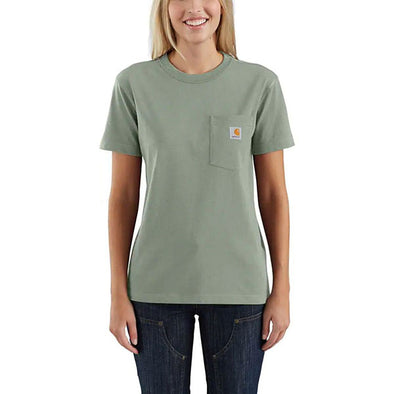 Carhartt Women's WK87 Workwear Pocket Botanic Green
