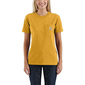 Carhartt Women's WK87 Workwear Pocket Carhartt Gold Heather
