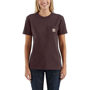 Carhartt Women's WK87 Workwear Pocket Deep Wine