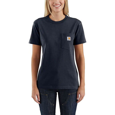 Carhartt Women's WK87 Workwear Pocket Navy