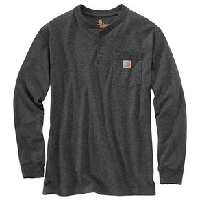 Carhartt Workwear Pocket L/S Carbon Heather