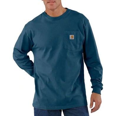 Carhartt Workwear Pocket L/S Stream Blue
