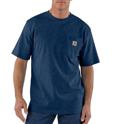 Carhartt Workwear Pocket Dark Cobalt Blue Heather
