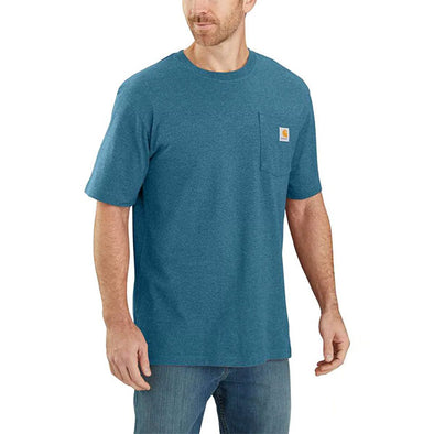 Carhartt Workwear Pocket Ocean Blue Heather