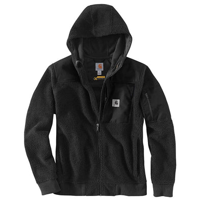 Carhartt Yukon Extremes Wind Fighter Fleece Active Jacket Black