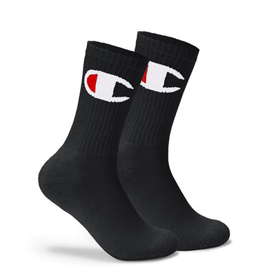 Champion Life Big C Crew Sock Black