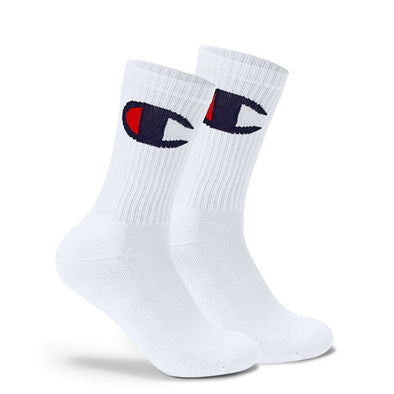 Champion Life Big C Crew Sock White