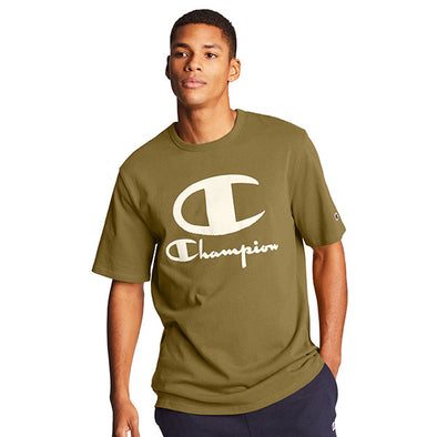 Champion Heritage Tee Furry Logo Imperial Gold