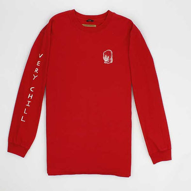 Brixton Chill L/S Red - Xtreme Boardshop