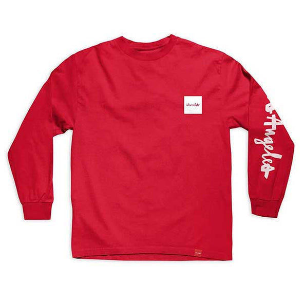 Chocolate Hometown Chunk L/S Red