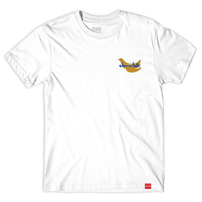 Chocolate Peace Power Tee White