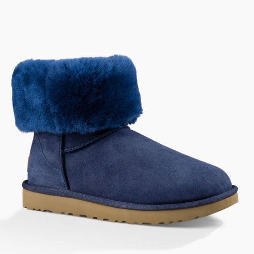 UGG Women's Classic Short II (1016223) Navy - Xtreme Boardshop