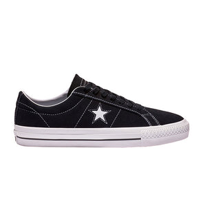 Converse One Star Pro Suede Low Top (159579C) Black/White/White