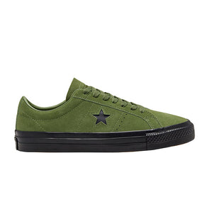 Converse One Star Pro Suede Low Top (166838C) Cypress Green/Black/Black