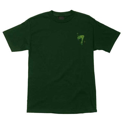 Creature Burlesque Buffet Regular S/S T-Shirt Forest Green