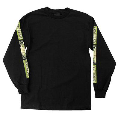 Creature Horror Feature Regular L/S T-Shirt Black