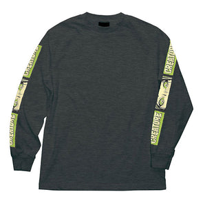 Creature Horror Feature Regular L/S T-Shirt Charcoal Heather