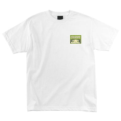 Creature Horror Feature Regular S/S T-Shirt White