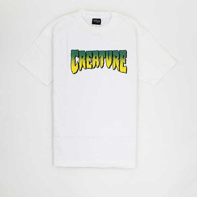 Creature Logo White - Xtreme Boardshop
