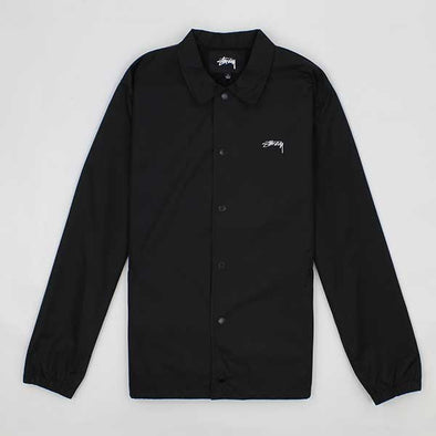 Stussy Cruize Coach Jacket Black - Xtreme Boardshop