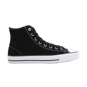 Converse CONS CTAS Pro Suede High Top Black/Black/White - Xtreme Boardshop