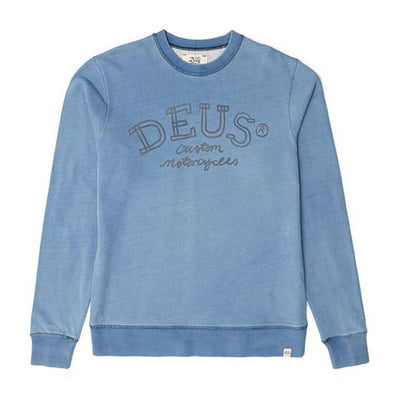 Deus Ex Machina Chalk Indigo Crew Light Indigo - Xtreme Boardshop