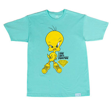 Diamond x Looney Tunes Puddy-Tat Tee Diamond Blue