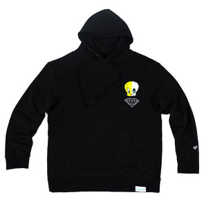 Diamond x Looney Tunes X-Ray Hoodie Black