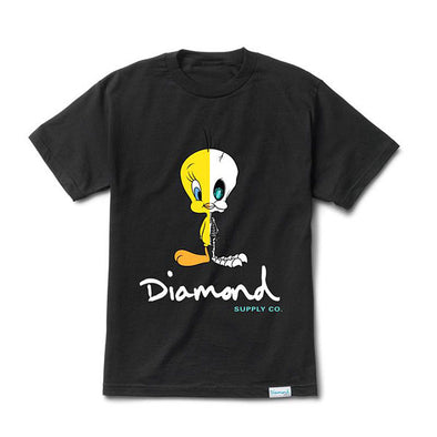 Diamond x Looney Tunes X-Ray Tee Black