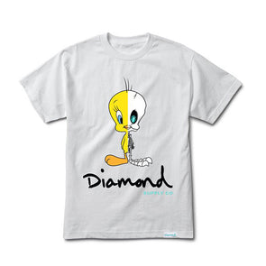 Diamond x Looney Tunes X-Ray Tee White