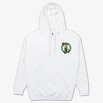 Diamond x Space Jam Hoodie Boston Celtics White
