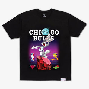 Diamond x Space Jam Tee Chicago Bulls Black