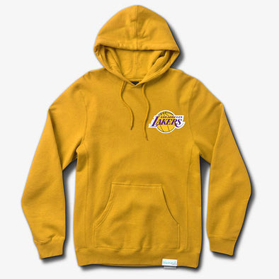 Diamond x Space Jam Hoodie Los Angeles Lakers Gold