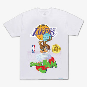 Diamond x Space Jam Tee Los Angeles Lakers White