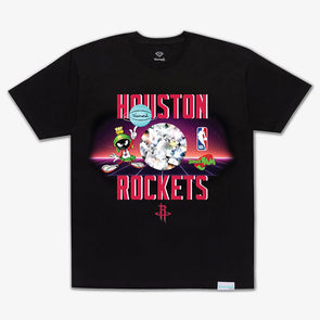 Diamond x Space Jam Tee Houston Rockets Black