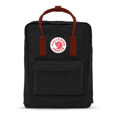Fjallraven Kanken Backpack Black/Ox Red - Xtreme Boardshop