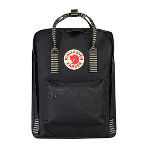 Fjallraven Kanken Backpack Black/Striped - Xtreme Boardshop