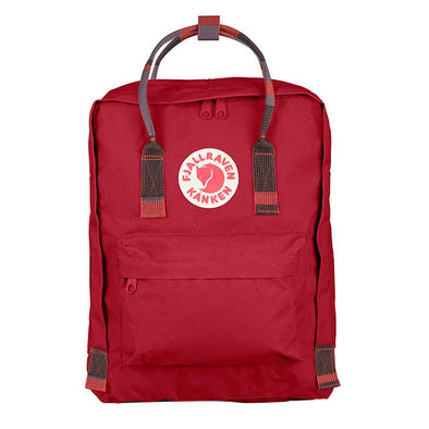 Fjallraven Kanken Backpack Deep Red/Random Blocked