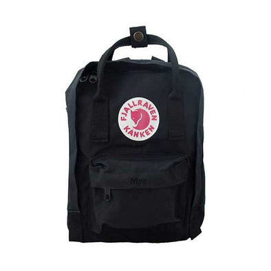 Fjallraven Kanken Mini Backpack Black - Xtreme Boardshop