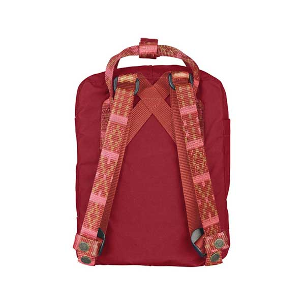 0d99d82589 Fjallraven Kanken Mini Backpack Deep Red Folk Pattern – Xtreme ...
