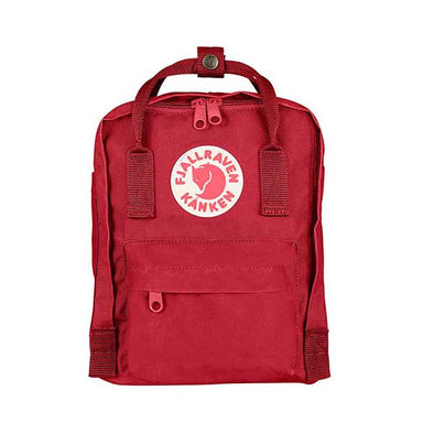 Fjallraven Kanken Mini Backpack Deep Red - Xtreme Boardshop