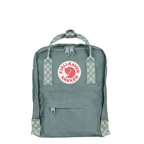Fjallraven Kanken Mini Backpack Forest Green/Chess Pattern