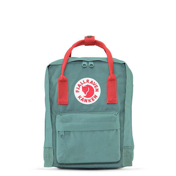 Fjallraven Kanken Mini Backpack Frost Green/Peach Pink