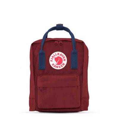 Fjallraven Kanken Mini Backpack Ox Red/Royal Blue - Xtreme Boardshop