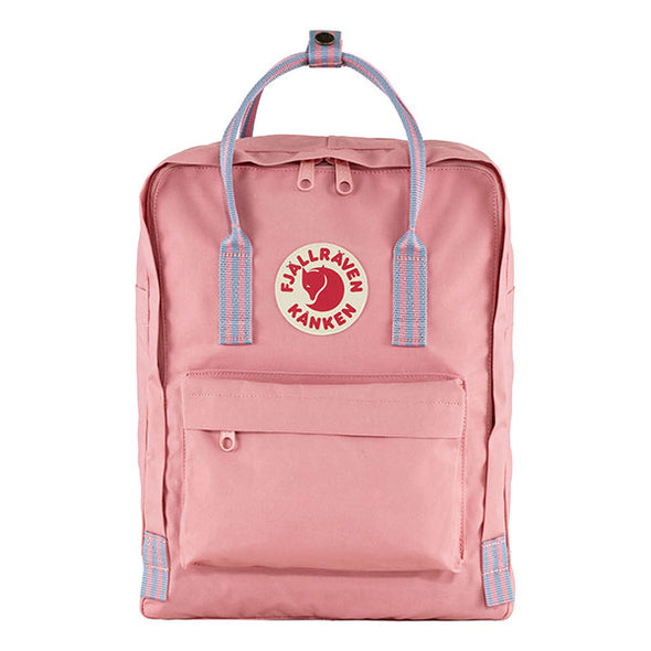 Fjallraven Kanken Backpack Pink/Long Stripes