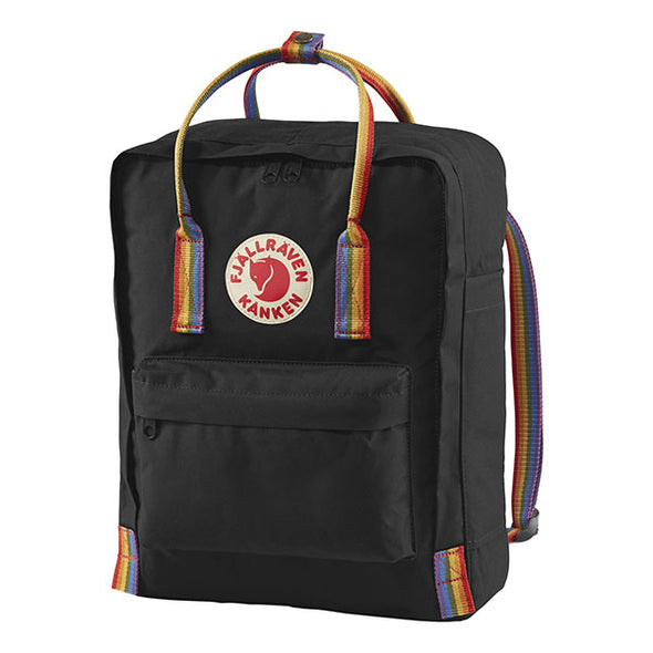 Fjallraven Kanken Rainbow Backpack Black/Rainbow Pattern