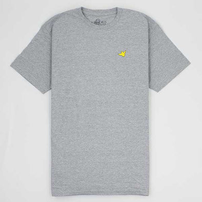 Krooked Fly Straight Athletic Heather/Yellow - Xtreme Boardshop