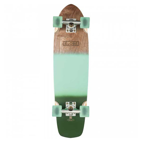 "Globe Cruiser Board Tracer Classic 31"" Aqua/Green Spray - Xtreme Boardshop"