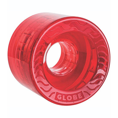 Globe Retro Flex Cruiser Wheel Clear Red 58mm