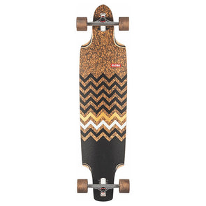 Globe Spearpoint Longboard Cork/Zagged 40""